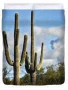 The Saguaros  Duvet Cover