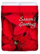 The Season's Velvet Touch Duvet Cover