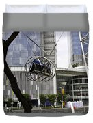 The Seat Of The G-max Reverse Bungee At The Clarke Quay In Singapore Duvet Cover