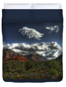 The Serenity Of Sedona  Duvet Cover