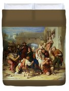The Seven Ages Of Man Duvet Cover