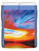The Seventh Day Duvet Cover