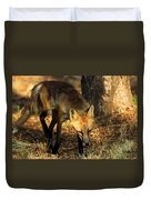 The Silent Approach Duvet Cover
