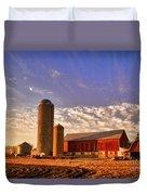 The Skittles Barn Duvet Cover