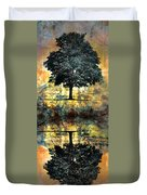 The Small Dreams Of Trees Duvet Cover