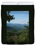 The Smoky Mountains Duvet Cover