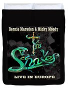 The Snakes Live In Europe Duvet Cover