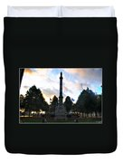 The Soldiers And Sailors Monument In Lafayette Square  Duvet Cover