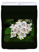 The Southern Catalpa Duvet Cover