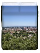 The Southern City Of Birmingham Alabama Duvet Cover