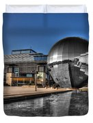 The Sphere At Bristol Duvet Cover