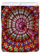 The Stained Glass Ceiling Duvet Cover