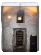 The Stairs To John The Baptist Tomb Duvet Cover