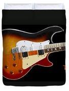 The Strat Les Guitar Duvet Cover