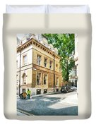The Streets Of London Duvet Cover