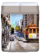 The Streets Of San Francisco . 7d7263 Duvet Cover