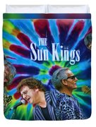 The Sun Kings Duvet Cover