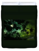 The Sun Through Clouds And Branches  Duvet Cover