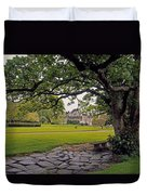 The Sundial Terrace, Glin Castle, Co Duvet Cover