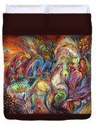 The Temptation Of Eve Duvet Cover