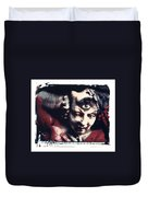 The Third Eye Polaroid Transfer Duvet Cover