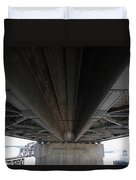 The Three Benicia-martinez Bridges In California - 5d18842 Duvet Cover