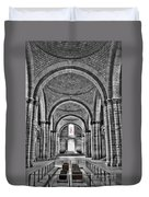 The Tombs At Fontevraud Abbey   France Duvet Cover