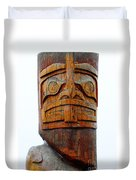 The Totem Canada Duvet Cover