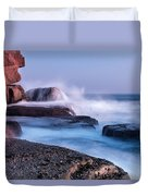 The Touch Of The Sea Duvet Cover