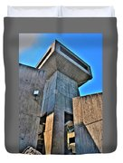 The Tower At The Erie Basin Marina Duvet Cover