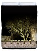 The Tower Of London At Night  Duvet Cover