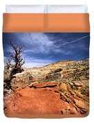 The Trail Ahead Duvet Cover