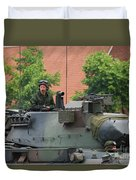 The Turret Of The Leopard 1a5 Main Duvet Cover