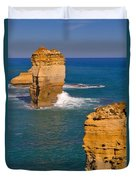 The Twelve Apostles In Port Campbell National Park Australia Duvet Cover