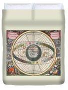 The Universe Of Brahe Harmonia Duvet Cover