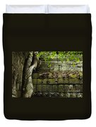 The Wall Ta Prohm 2 Duvet Cover