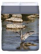 The Water Dance V4 Duvet Cover