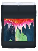 The Water Lily Unleashed Duvet Cover