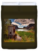 The Water Shed Duvet Cover by Tara Turner
