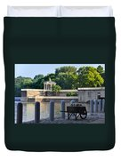 The Waterworks Wheelbarrow - Philadelphia Duvet Cover
