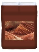The Wave Into The Fold Duvet Cover