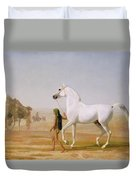 The Wellesley Grey Arabian Led Through The Desert Duvet Cover