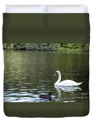 The White Swan Duvet Cover