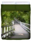 The Whitewater Walk Boardwalk Trail Duvet Cover