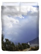 The Wind Journey Palm Springs Duvet Cover