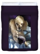 The Wizard Of Dogs Duvet Cover