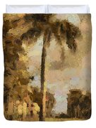 The Wonder Of Fort Pierce Duvet Cover by Trish Tritz