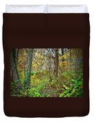 The Woods In Autumn Duvet Cover