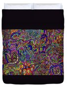 The World Largest Migraine Artwork Duvet Cover