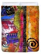 The Woven Stitch Cross Dance Duvet Cover
